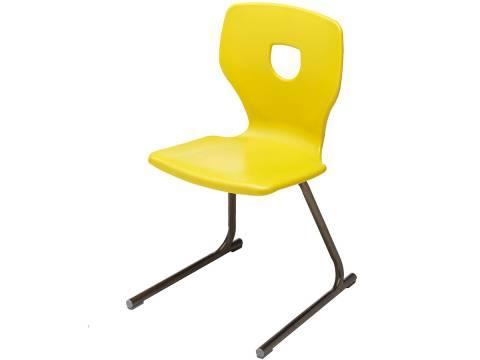 """1568 18"""" Cantilever Silhoflex Chair"""