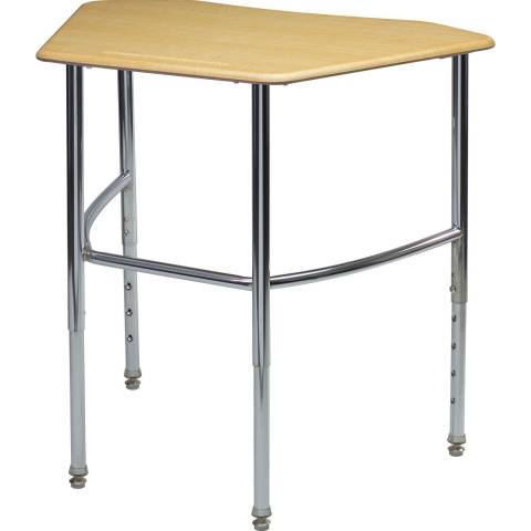 3880 Adjustable Octagon Desk