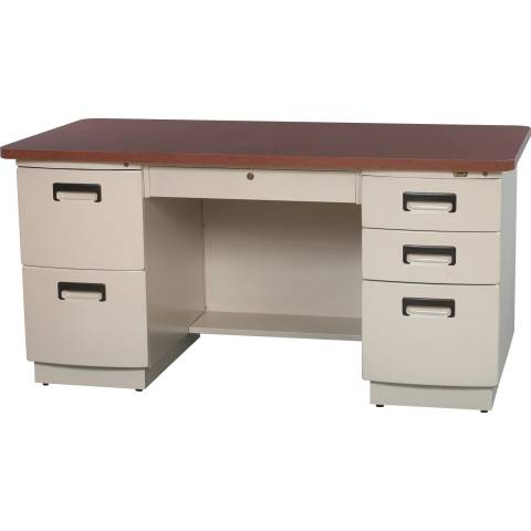 9029 Double Pedestal Desk