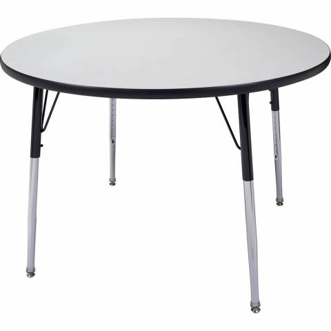 6100 Round Adjustable Table